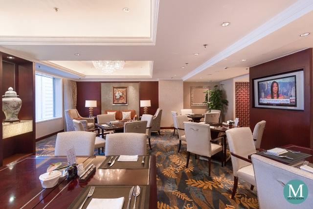 Horizon Club Lounge at Shangri-La Hotel Wuhan