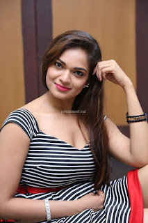 Ashwini in Spicy Short Deep Neck Dress at Pelliki Mundu Prema Katha Trailer Launch Exclusive  01.JPG