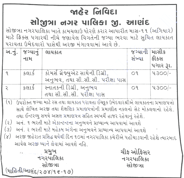 Nagarpalika Recruitment