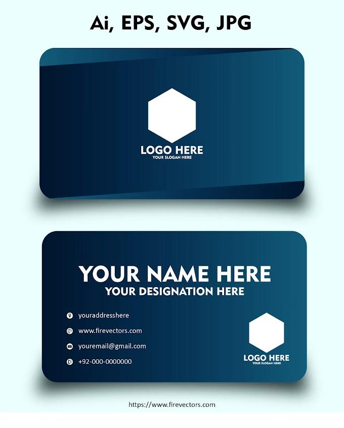 Business Card Template Ai - 01