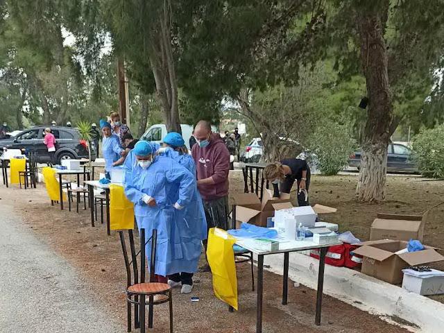 Τρεις δήμαρχοι της Περ. Πελοποννήσου ζητούν διενέργεια τεστ σε δομές μεταναστών και σε εργάτες γης