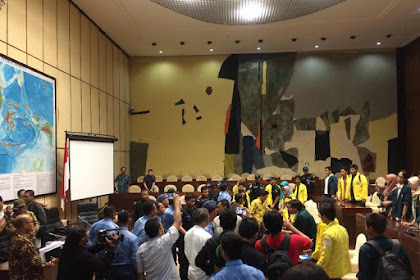 Diterima di DPR, Audiensi Massa Aksi dan Pansus Angket KPK Memanas