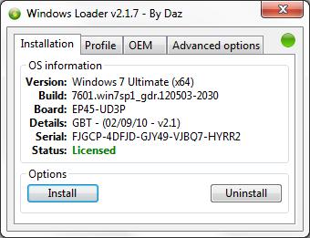 windows 10 loader by daz
