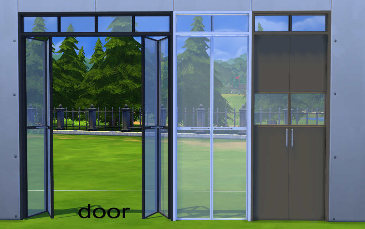 Doors Windows: My Sims 4 Blog: City Lights Windows And Doors By Minc78