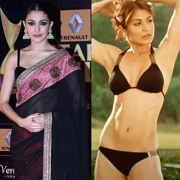 10 Indian actresses in saree vs bikini