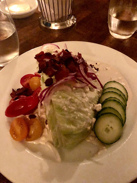 food picture of salad with tomato and cucumber garnish