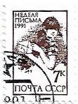 Selo Semana Internacional de Redação de Cartas