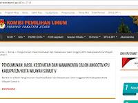Viral!!! Pengumuman Timsel Calon Anggota KPU Sumut V Tertanggal 24, Namun Sudah Diumumkan Tanggal 22