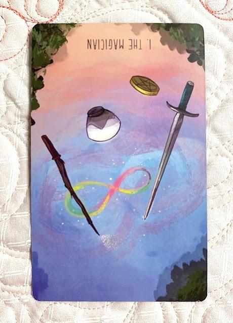 Mother Tarot - Magician reversed - The Spacious Tarot