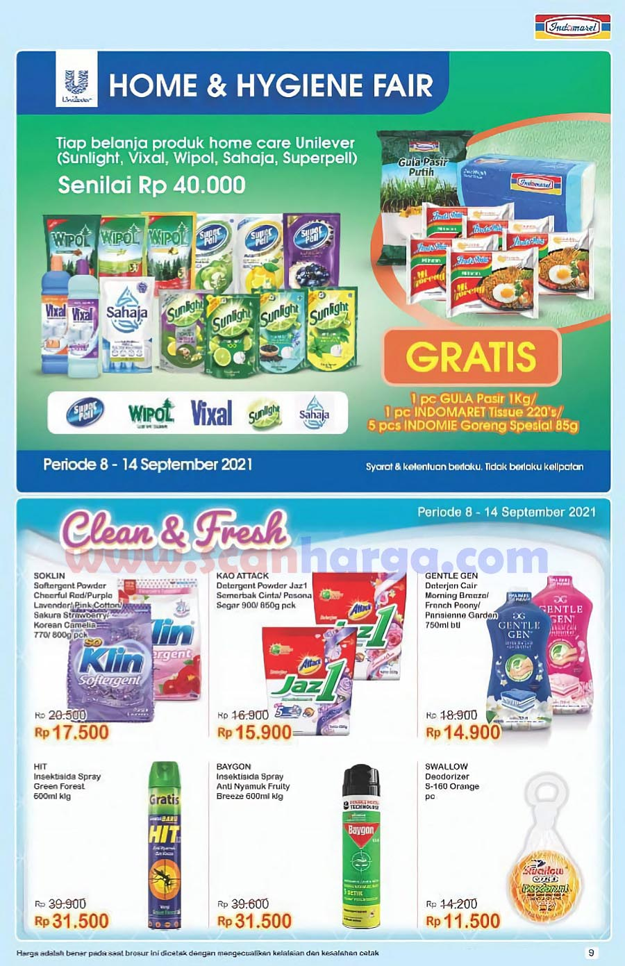 Katalog Indomaret Promo Terbaru 8 - 14 September 2021 9