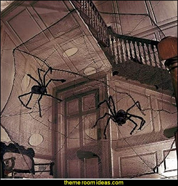 Hairy Spider scary haunted house spooky mansion Kids Party Favor halloween decorations