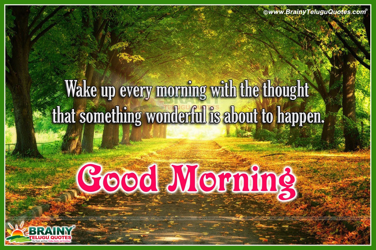 Best Good Morning Smiling Quotes Images In English