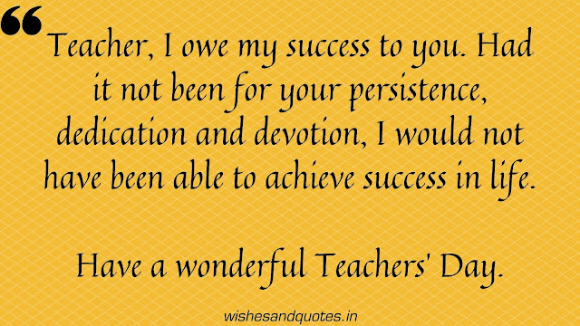 quotes on happy teachers day 2020