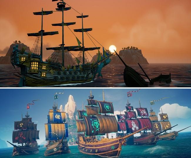 Comparison of King of Seas vs Sea of Thieves
