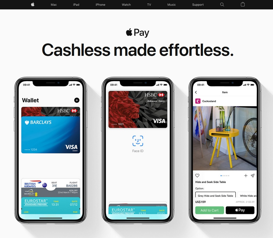 ApplePay bookmakers