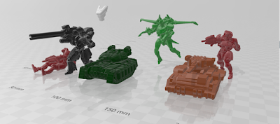 WHISPERs and Tanks Size Comparison