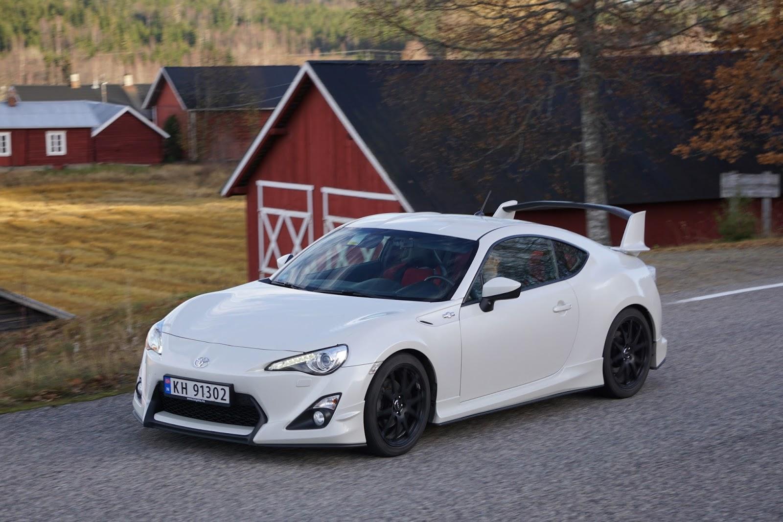 Test: Toyota GT86 facelift Bil og Motorbloggen biltester
