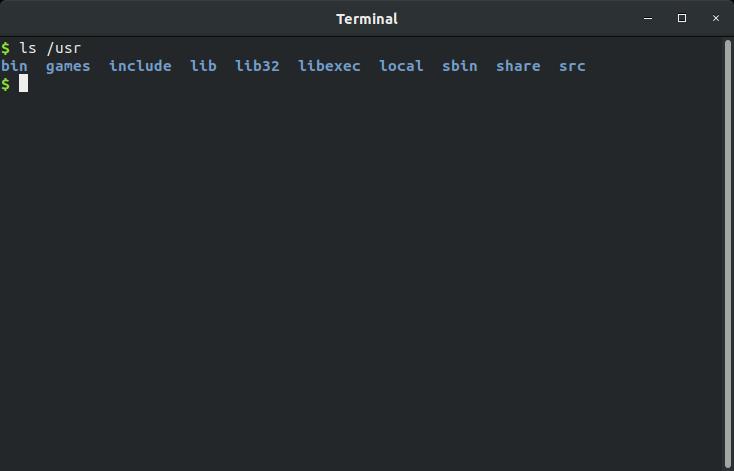 مجلد برامج المُستخدم فى نظام ملفات ومجلدات لينكس