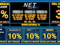 Link Alternatif Nettoto dan Daftar Nettoto Hadiah 3 Prize Bandar Juli Online Terpercaya