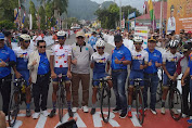 Jamalidin Novardianto Juara Etape VIII Sungaipenuh-Pessel Tour De Singkarak 2019