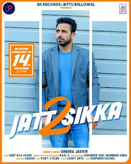 LYRICS - JATT SIKKA 2 By Sheera Jasvir New Song | DjPunjabNew.CoM