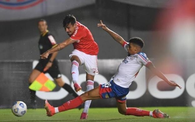Bahia perde para o Internacional