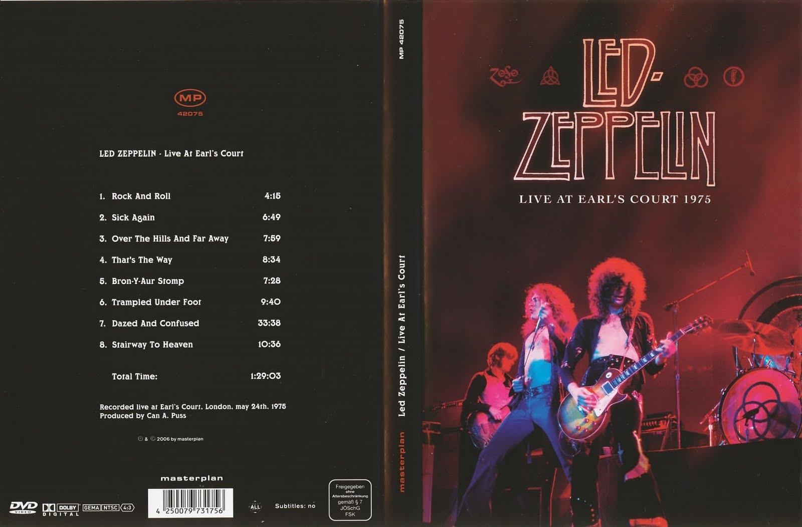 kelaran Raine: Led Zeppelin - Live at Earl's Court (1975 ...