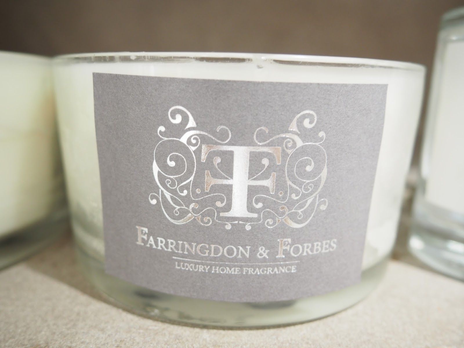 Farringdon & Forbes, luxury home fragrance, candles, Birmingham