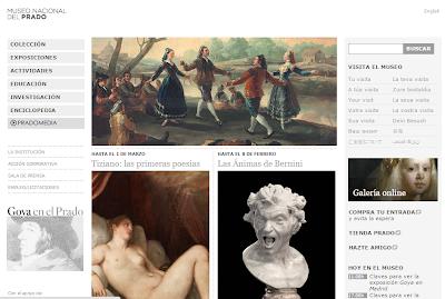 Resultado de imagen de museo del prado pagina web