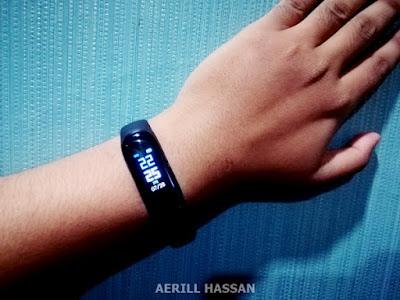 Review M3 Smart Band Intelligence Health Bracelet