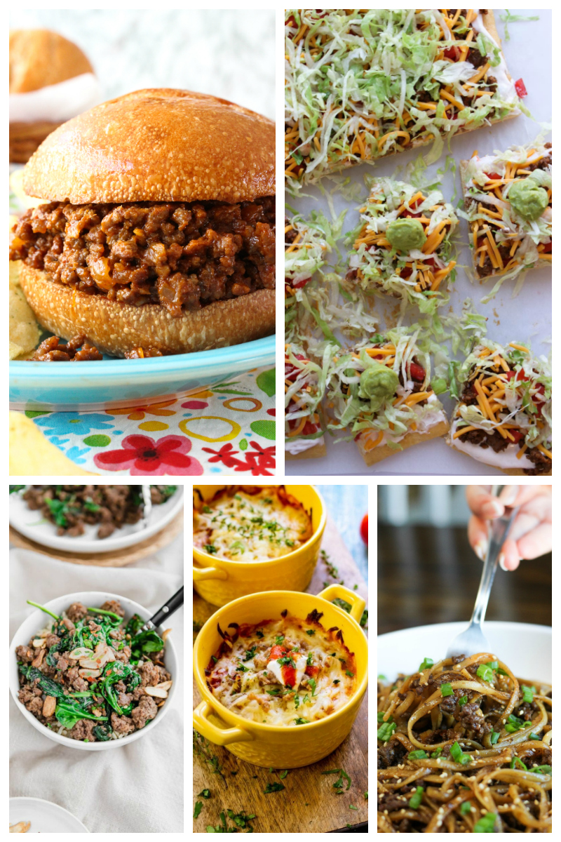 75 Ground Beef Dinner Ideas | The Two Bite Club