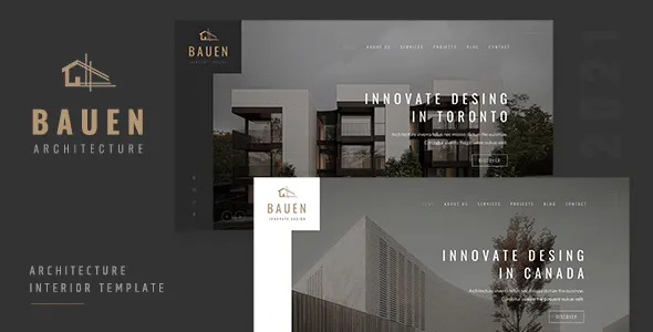 Best Architecture and Interior Website Template