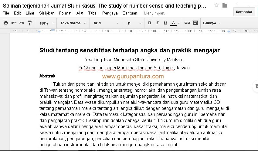 Cara Translate Jurnal Internasional PDF Bahasa Inggris-Guru Pantura