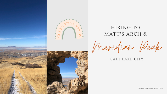 Hiking to Matt's Arch & Meridian Peak