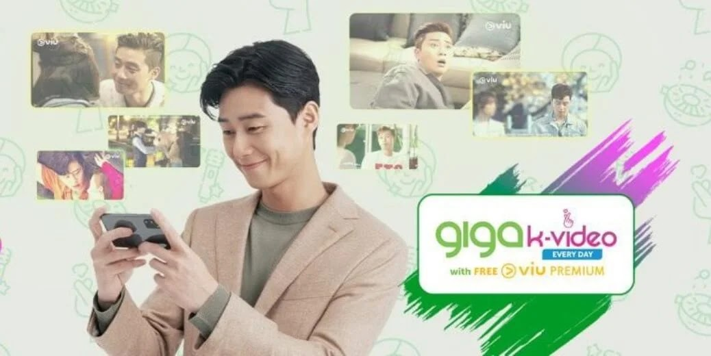 Smart partners with Viu to launch GIGA K-Video with Park Seo Jun as endorser