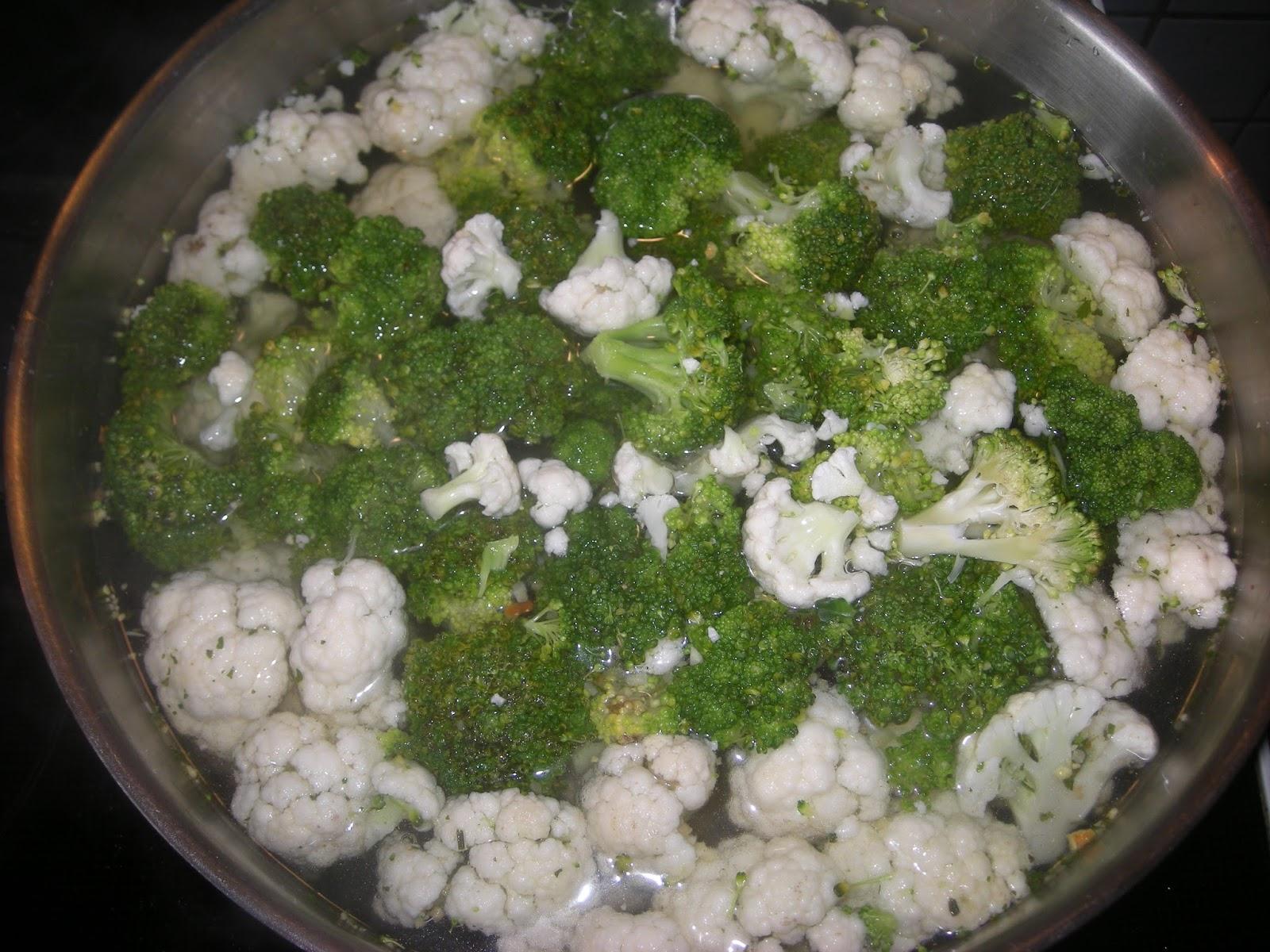 heiner kocht blumenkohl brokkoli risotto mit h hnchenbrustfilet. Black Bedroom Furniture Sets. Home Design Ideas