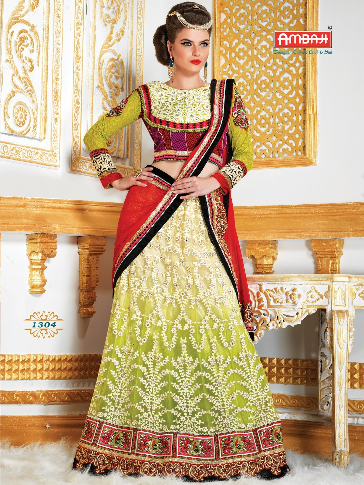 Ambaji 1300 Series – New Collection Of Heavy Lehenga Choli