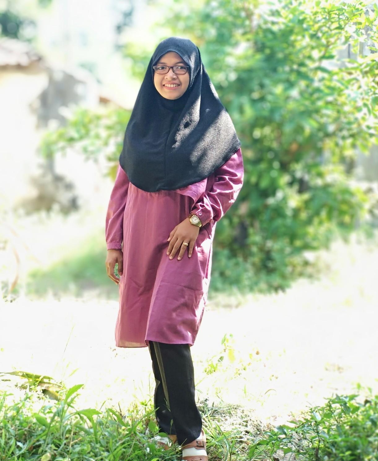 jilbab instan untuk wajah chubby