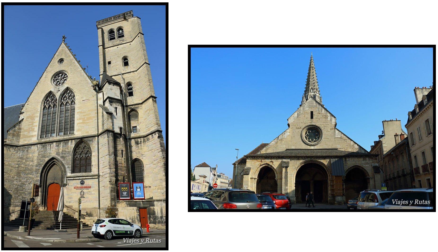 Saint Philibert y teatro de Dijon