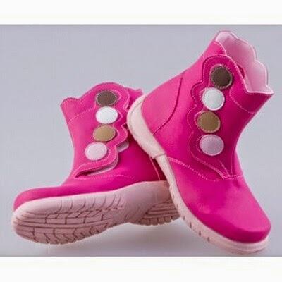 Foto Gambar Model Sepatu Anak Wanita Cewek Ala Korea Modis