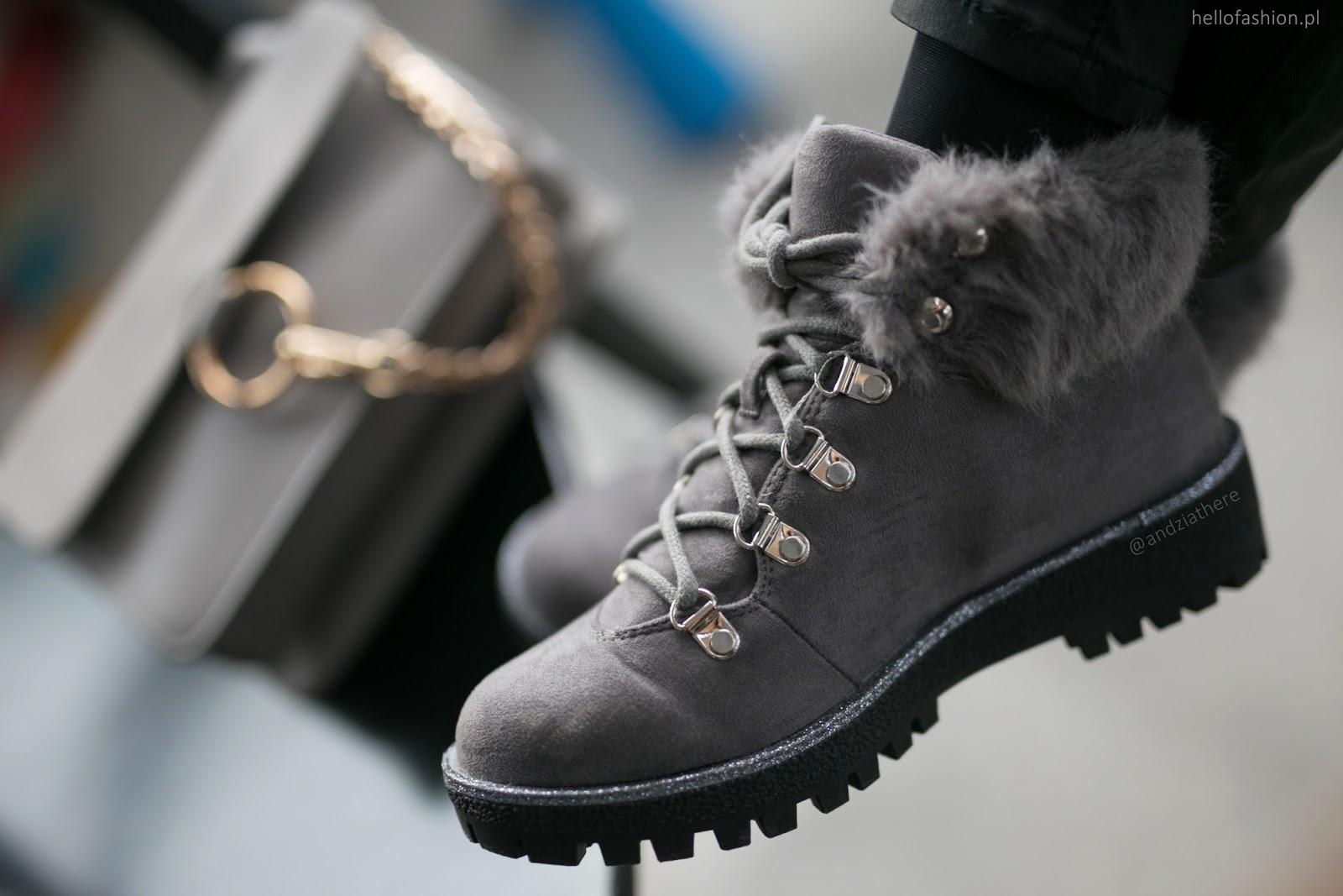 buty ocieplane damskie na zimę