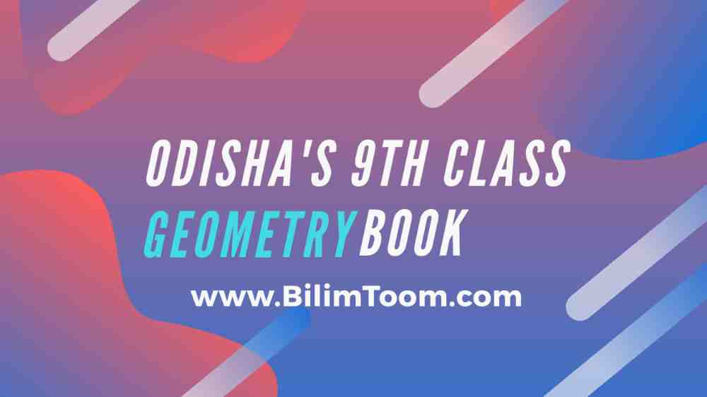 Odisha 9th Class Geometry Book PDF Download