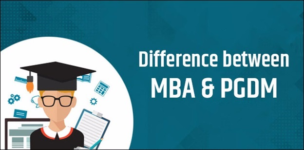 What is the difference between MBA and PGDM program