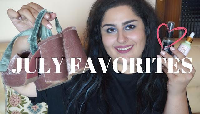July Beauty & Fashion Favorites!