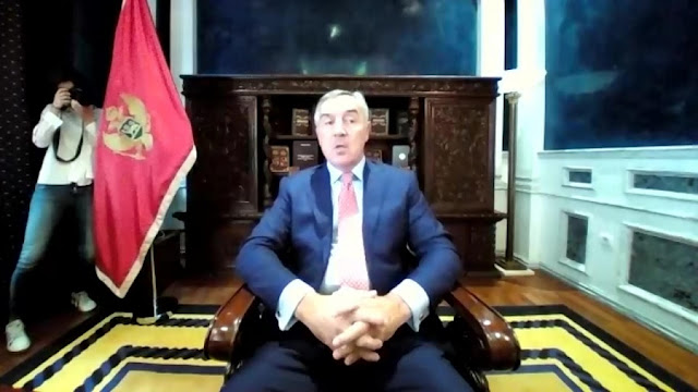 Djukanovic says the Serbian Orthodox Church is an instrument of Russian interests in the Balkans and the nationalism