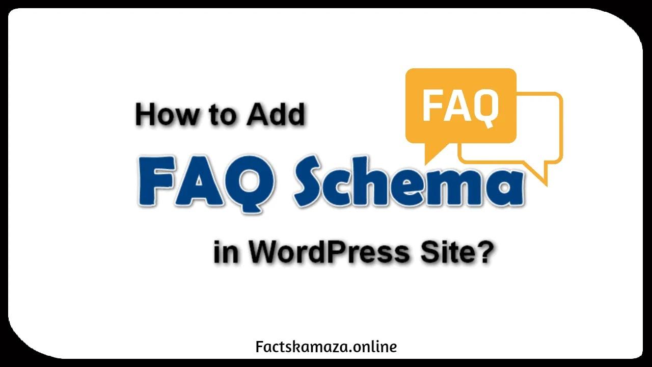 How to add FAQ Schema to your WordPress Website