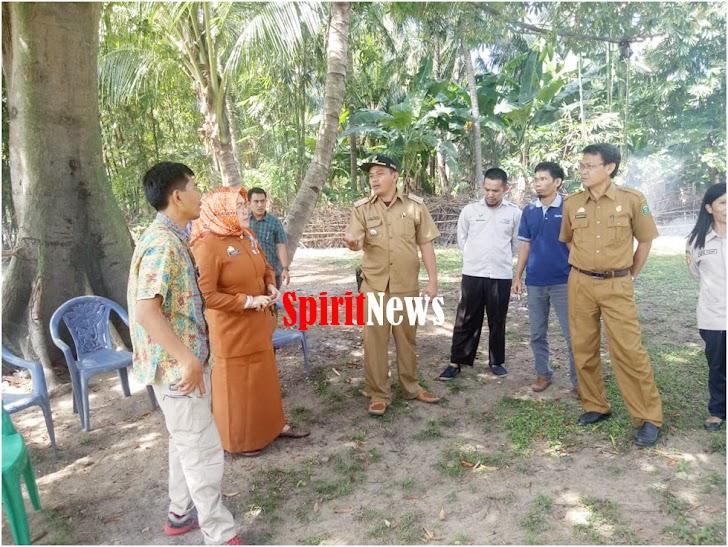 Camat Marbo Dampingi Stap Kementerian Pertanian Meninjau Lokasi Pananaman Jagung