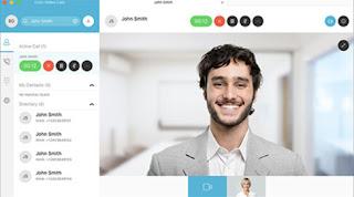 Aplikasi webex digunakan untuk video confrence saat bekerja dari rumah
