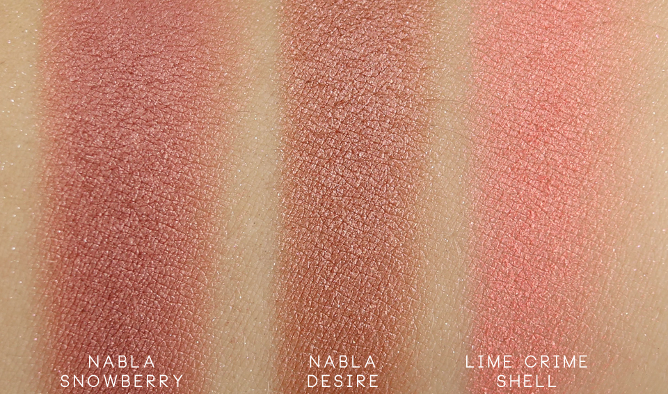 Nabla Goldust Snowberry swatch