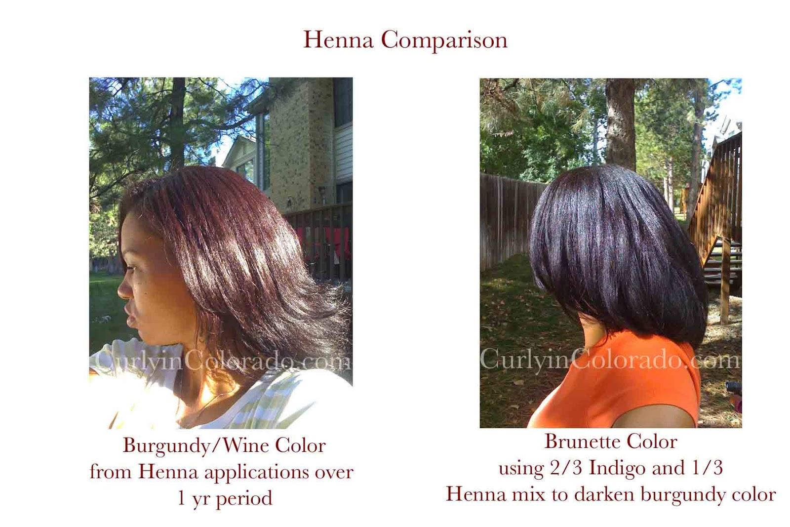 Henna And Indigo Results Curly In Colorado